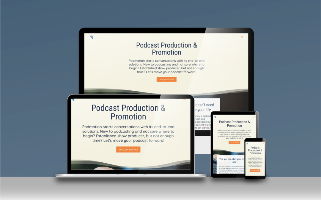 Building your podcast website